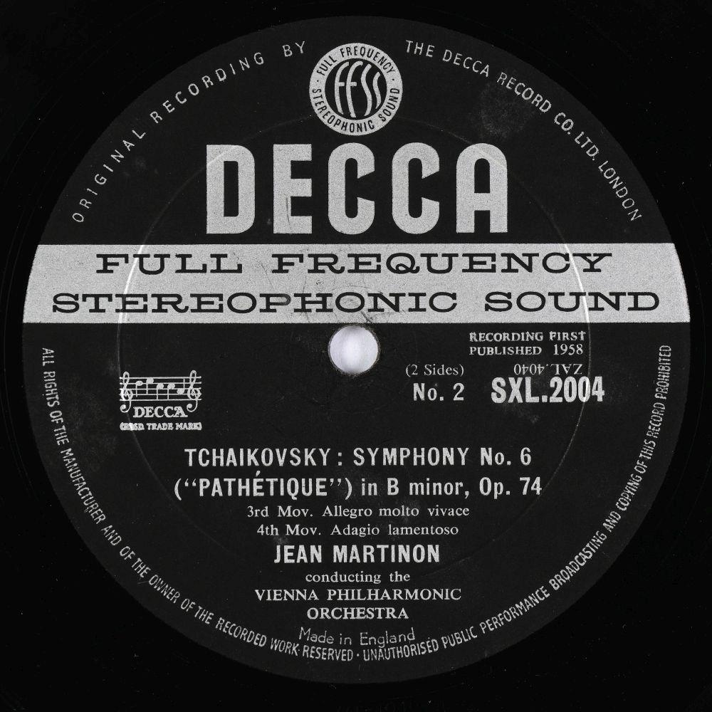 * Ricci (Ruggiero). Collection of Decca SXL classical records, including SXL 2077, 2197, 2004 & 05 - Image 8 of 11