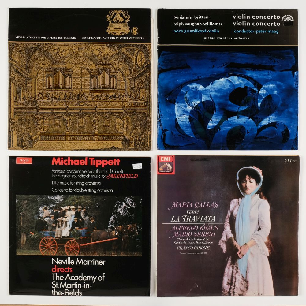 * Classical Records. Collection of approx. 200 classical records by popular composers and artists - Image 3 of 4