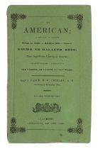 Chidlaw (B.W.) Yr American, 1840