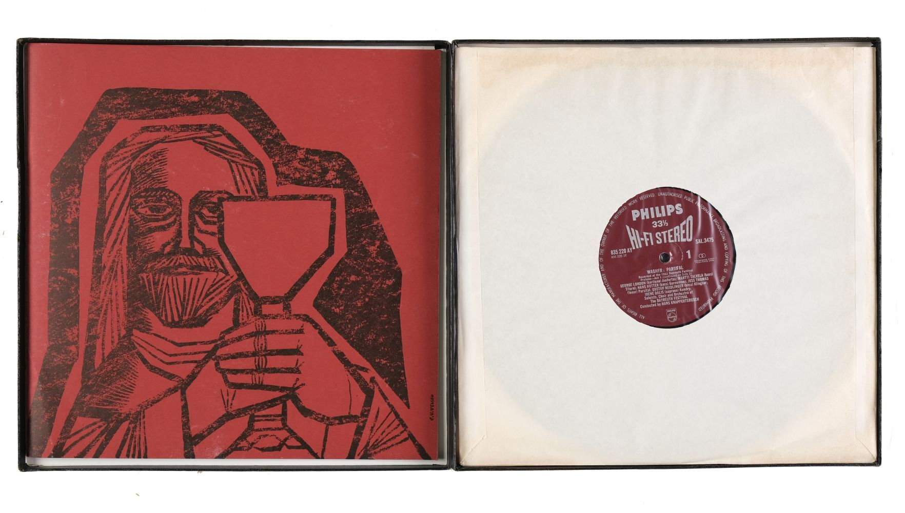 """* Classical Records. 70 box sets, inc. Wagner """"Parsifal"""" (Philips Hi-Fi Stereo 1st pressing - Image 3 of 10"""
