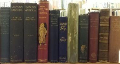 De Windt (Harry). Through the Gold-Fields of Alaska, 1st edition, 1898 etc.