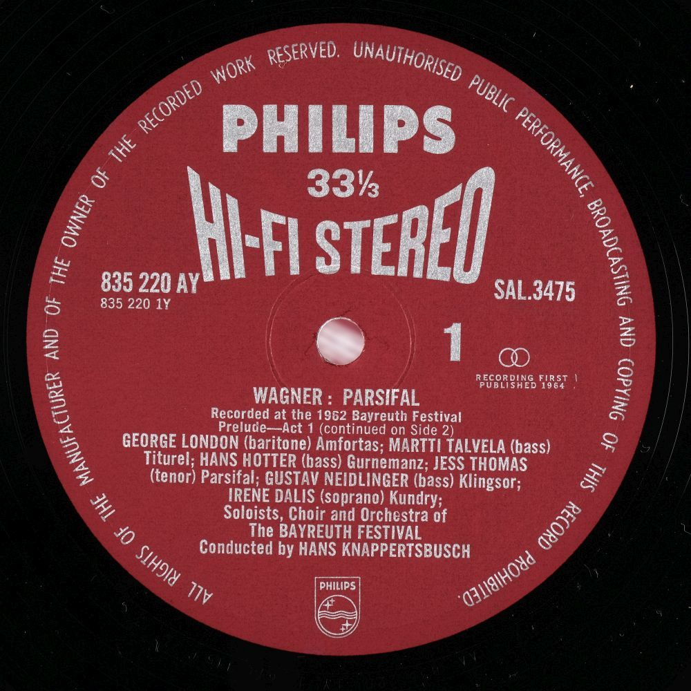 """* Classical Records. 70 box sets, inc. Wagner """"Parsifal"""" (Philips Hi-Fi Stereo 1st pressing - Image 2 of 10"""