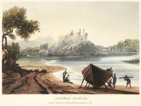 M'Lean (Thomas, publisher). A Picturesque Description of North Wales, 1823