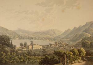* Birmann (Swiss publisher & artist, 19th century). Como