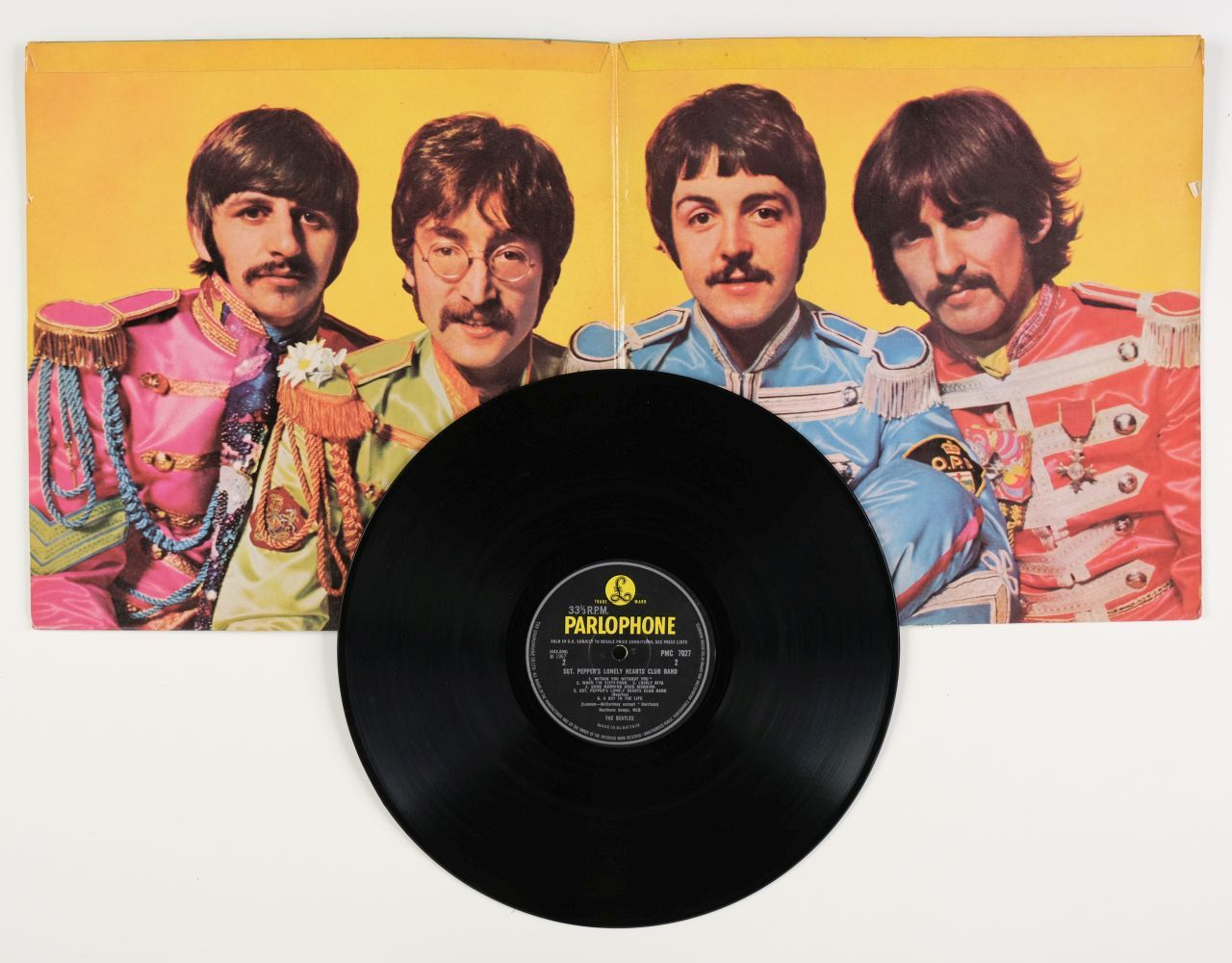 * The Beatles. Beatles records, inc. Red & Blue albums, Rubber Soul, Sgt. Pepper, Revolver, etc - Image 2 of 7