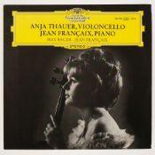 * Thauer (Anja). Rare original 1966 German stereo pressing of Deutsche Grammophon SLPM 138990, ED1