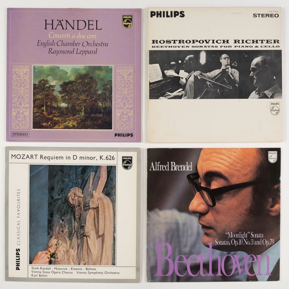 * Classical Records. Collection of approximately 170 classical records on the Philips record label - Image 4 of 4