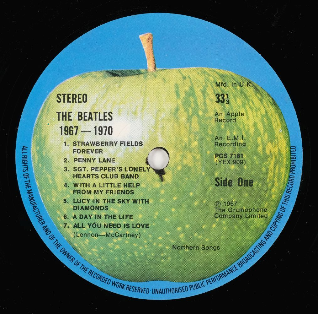 * The Beatles. Beatles records, inc. Red & Blue albums, Rubber Soul, Sgt. Pepper, Revolver, etc - Image 6 of 7