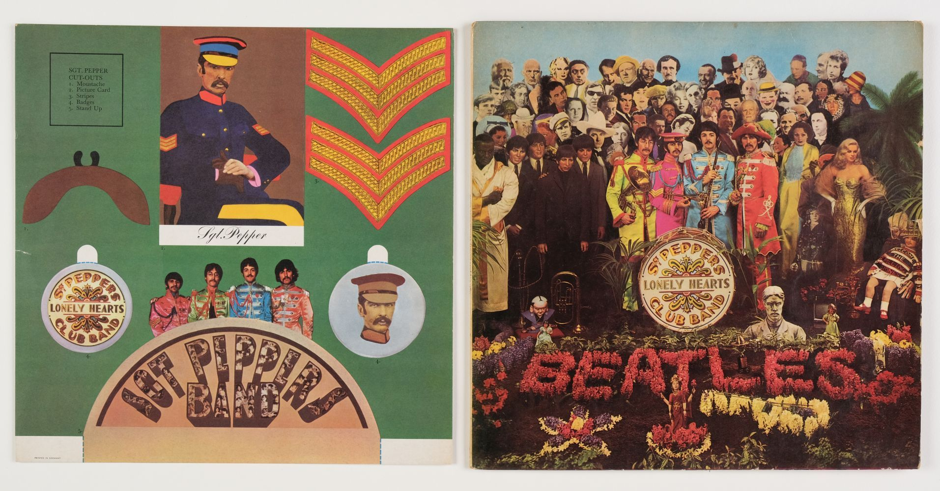 * The Beatles. Beatles records, inc. Red & Blue albums, Rubber Soul, Sgt. Pepper, Revolver, etc - Image 3 of 7