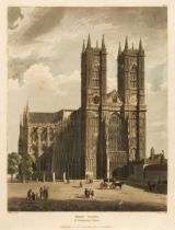 Ackermann (Rudolph). The History of the Abbey Church of St Peter's Westminster, 1812