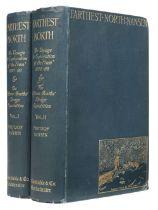 Nansen (Fridtjof). Farthest North, 2 volumes, 1st edition, 1897