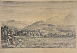 * Mexico & North America. San Blas from the river (West coast of Mexico), circa 1850, & 2 others