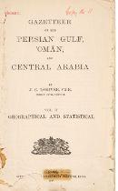Lorimer (John Gordon). Gazetteer of the Persian Gulf, Oman and Central Arabia