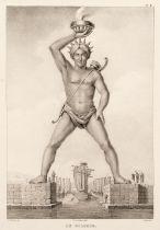 Rottiers (Bernard Eugene Antoine). Monumens de Rhodes, 1828