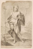* Attributed to Antonio de Pereda y Salgado (1608/11-1678). Saint John the Baptist