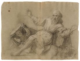 * Attributed to Pietro Bernardi, St. Francis receiving the Stigmata and other studies