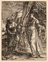 * Sichem (Christoffel van, I) Judith with the Head of Holophernes, woodcut