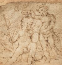 * Raphael Sanzio (da Urbino, 1483-1520). Infant Saint John baptising...,