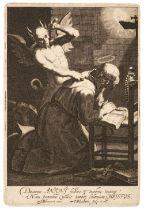 * Bloemaert (Cornelis, circa 1603-1692). The Temptation of St. Anthony