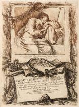 Guercino (Giovanni Francesco, 1591-1666). Racolta di alcuni disegni, 1764
