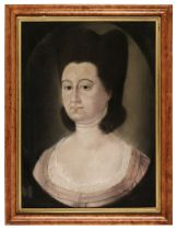 * Saunders (John, circa 1682-1758, manner of). A pair of portraits of a lady and gentleman