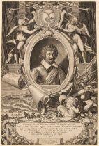 * Sadeler (Aegidius, 1570-1629). Charles de Longueval, Duc de Bucquoy, 1621,