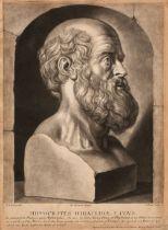 * Faber (John, 1684-1756). Hippocrates Hiraclideae, circa 1720-25