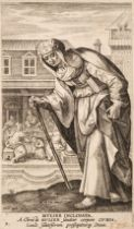 * De Vos (Martin). Mulier Inclinata (plate 9 from Icones Illustrium Feminarum Novi Testamenti), circ