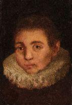 * Zuccaro (Federico, circa 1543-1609). Head of a Boy with a Rough, circa 1600