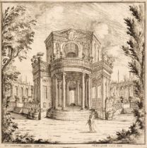 * Buffagnotti (Carlo Antonio, after Bibiena. Stage Sets for 'Endimione', etchings, 1699-1710
