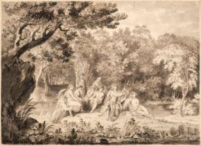 * Metz (Conrad Martin, 1749-1827). Apollo playing his Lyre