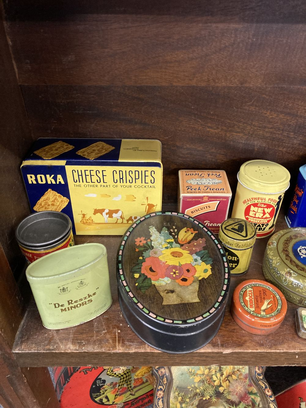 * Advertising Tins. A large collection of tins - Image 7 of 17