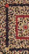 * Quilt. A patchwork hexagon quilt, late 19th/early 20th century