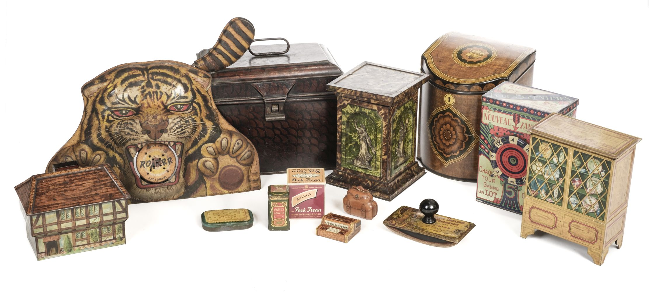 * Advertising Tins. A large collection of tins