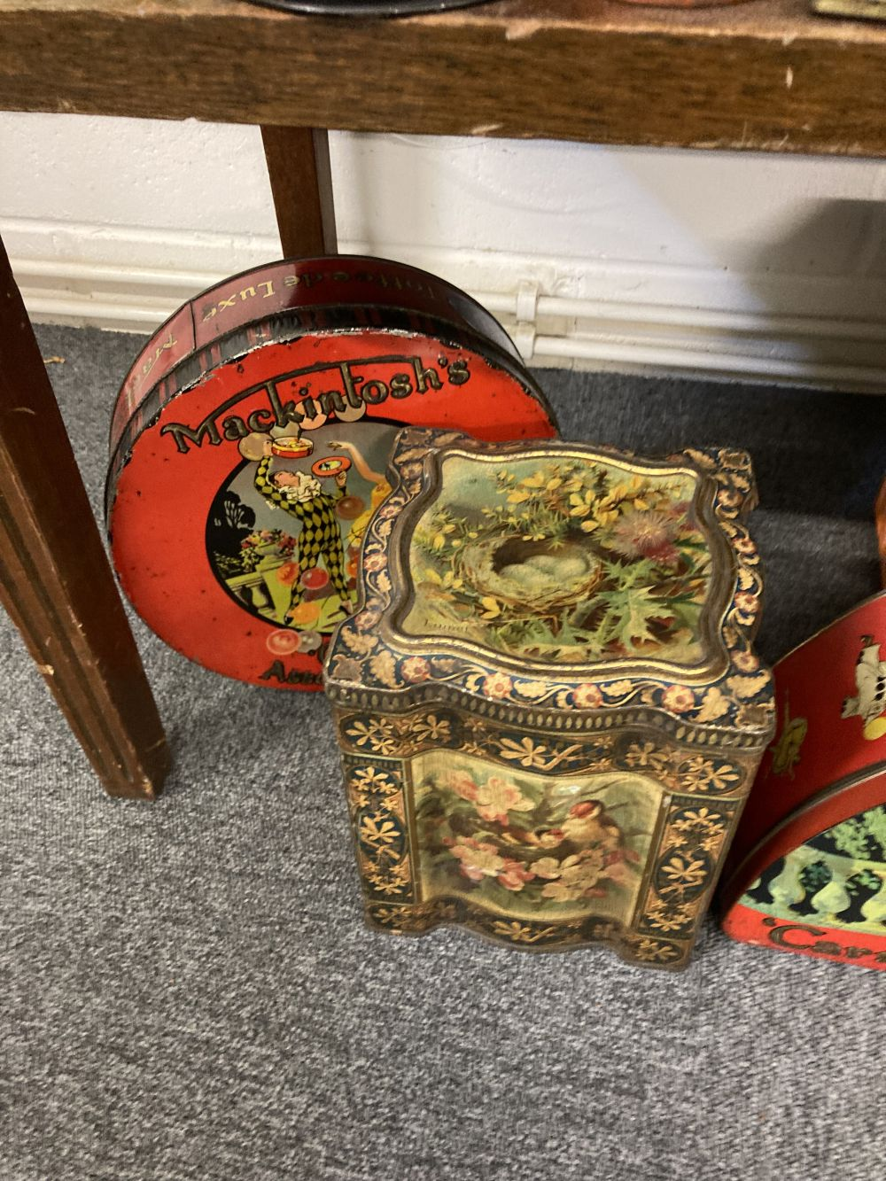* Advertising Tins. A large collection of tins - Image 10 of 17