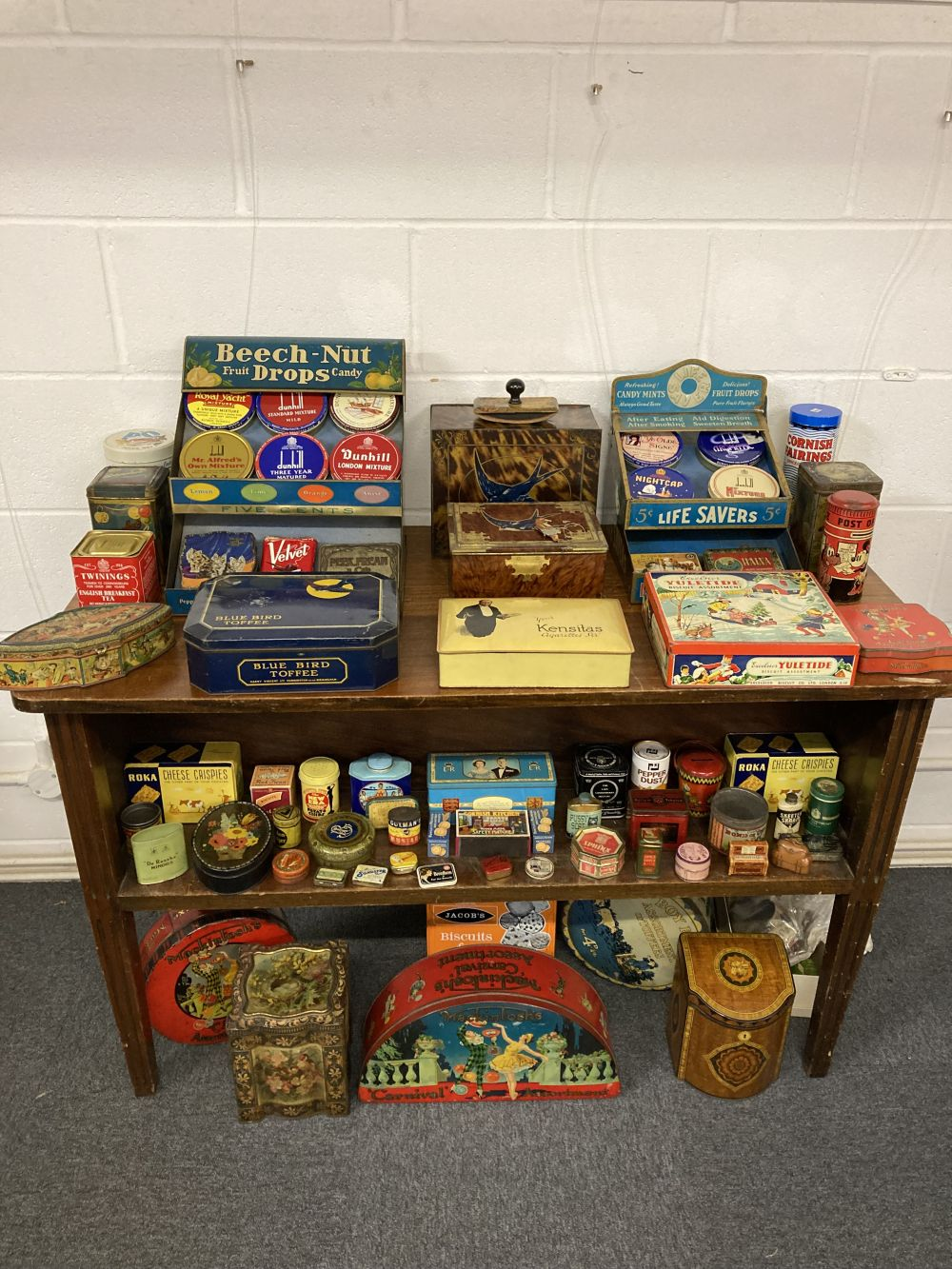 * Advertising Tins. A large collection of tins - Image 2 of 17