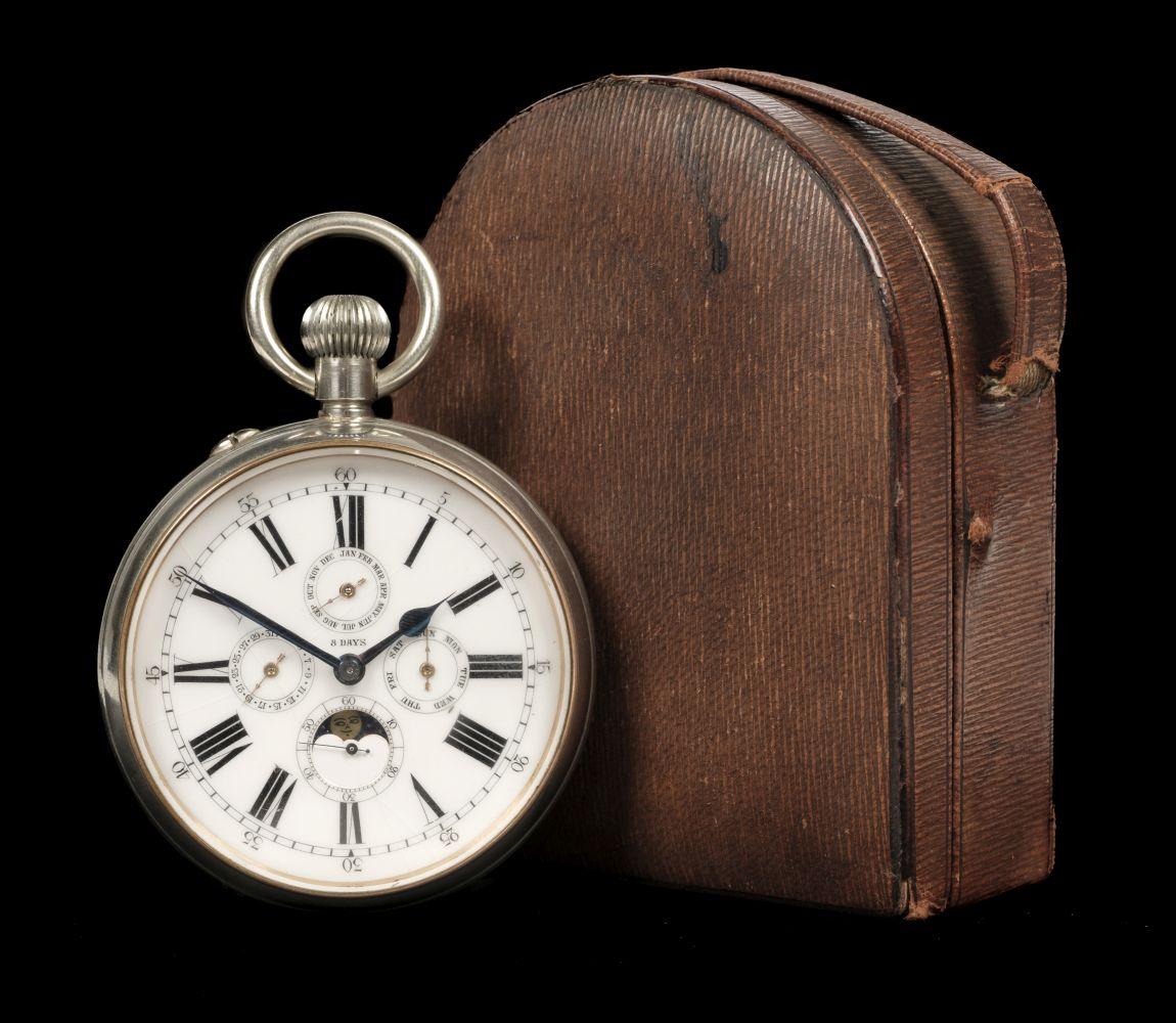 * Pocket Watch. A goliath pocket watch - Black Starr & Frost