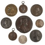 * Medals. Mixed collection of bronze and copper medals
