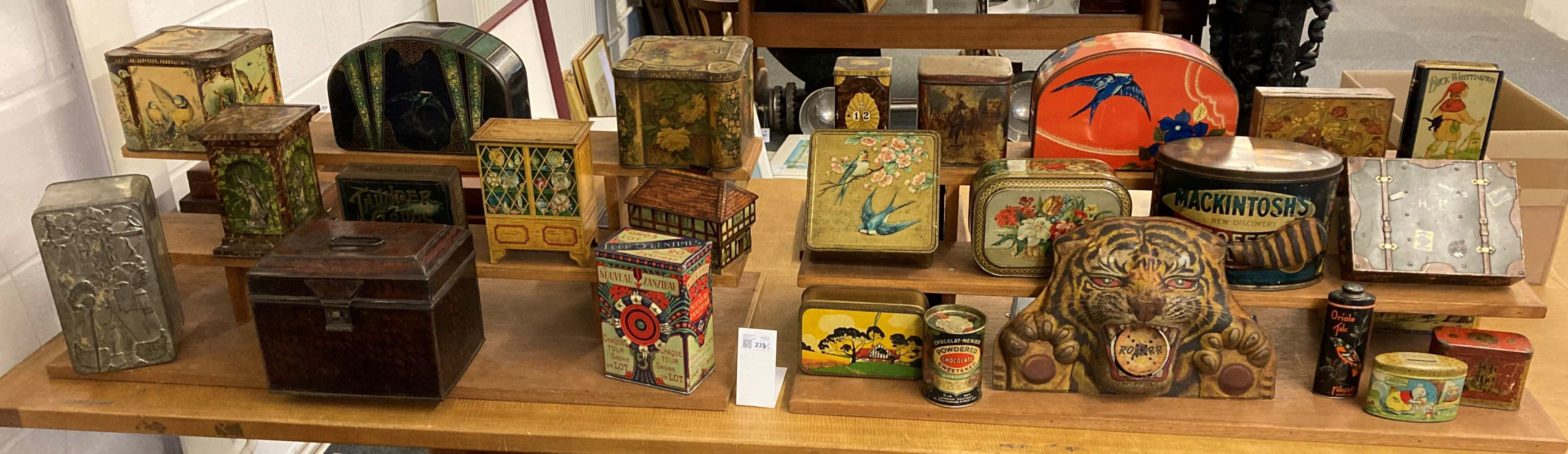 * Advertising Tins. A large collection of tins - Image 3 of 17