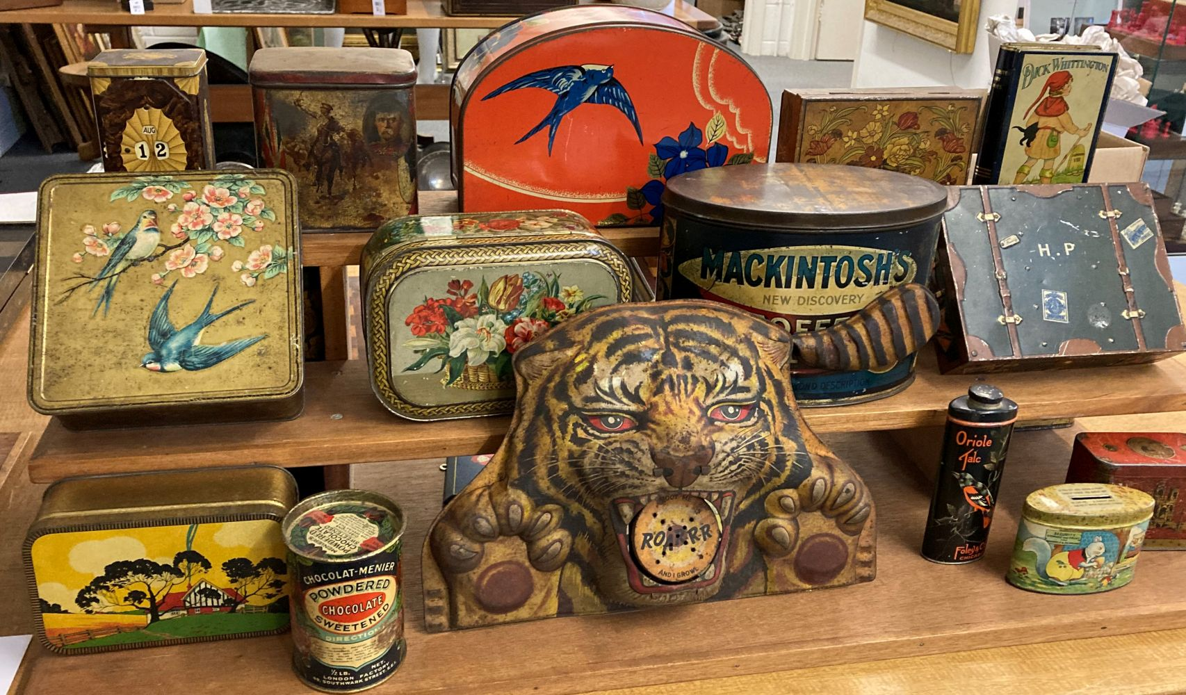 * Advertising Tins. A large collection of tins - Image 17 of 17