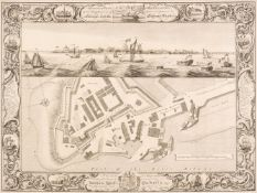 Manchester. Laurent (C. surveyor), A Topographical Plan of Manchester and Salford, 1793