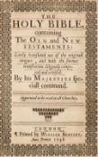 Bible [English]. The Holy Bible, containing the Old and New Testaments, 1648
