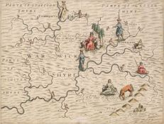 British Isles. A large collection of approximately 350 maps, 17th - 19th century