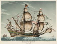 Terence Henry Lambert (born 1891), 'Elizabethan Galleon circa 1590'