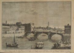VINCENZO FRANESCHINI (c.1680-1750) AFTER GIUSEPPE ZOCCHI (C.1717-1767) A Florentine 'Veduta'