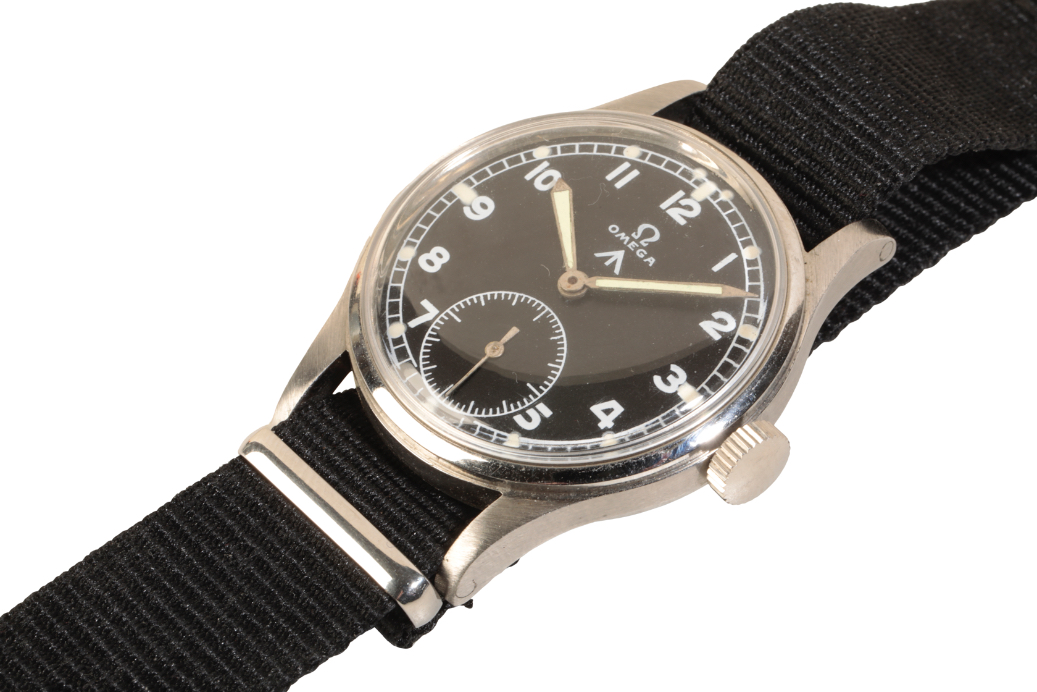 OMEGA BRITISH MILITARY STAINLESS STEEL WRIST WATCH - Image 2 of 5