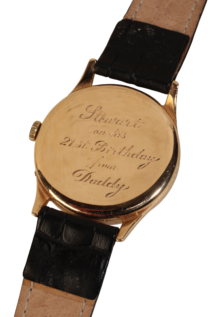 MOVADO CALENDAR GENTLEMAN'S GOLD PLATED WRIST WATCH - Image 3 of 3