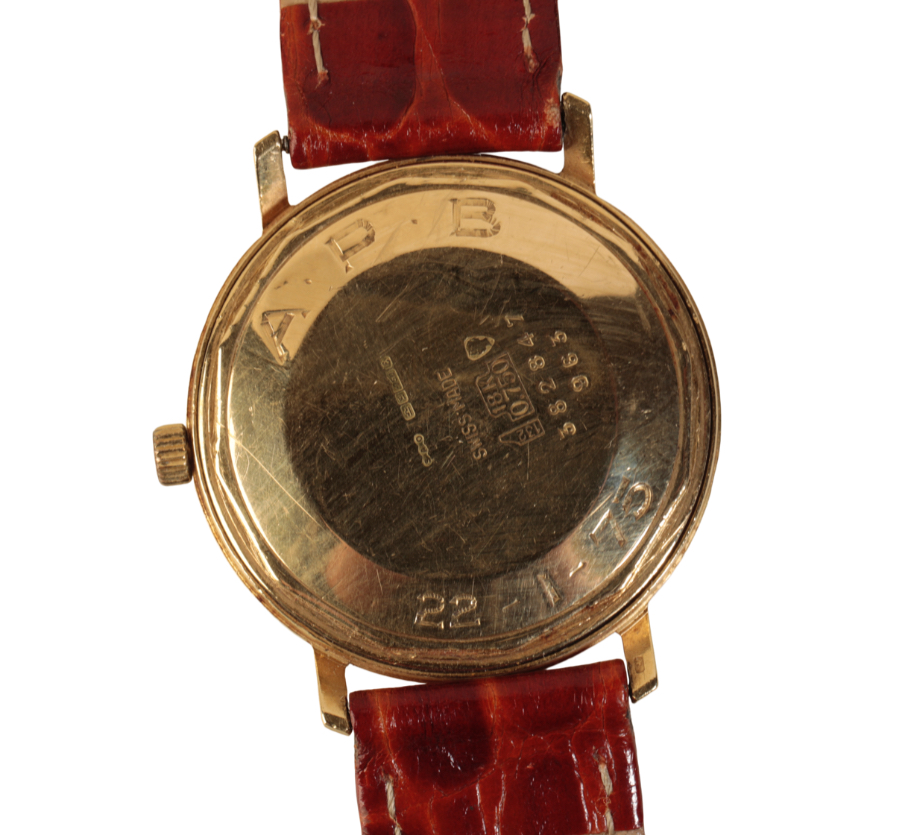 BOODLE AND DUNTHORNE 18CT GOLD GENTLEMAN'S WRIST WATCH - Image 3 of 3