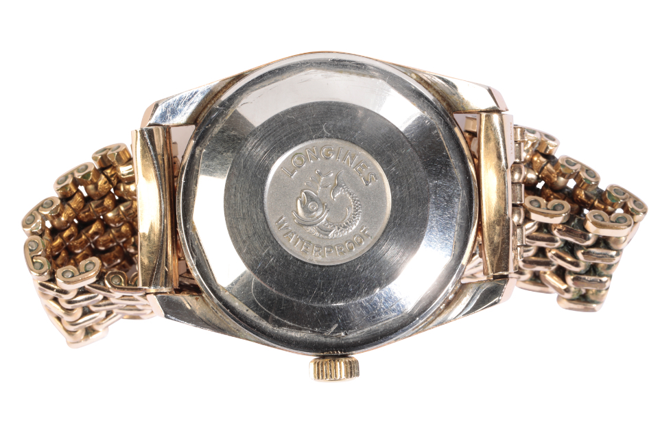 LONGINES CONQUEST GENTLEMAN'S GOLD PLATED WRIST WATCH - Image 3 of 3