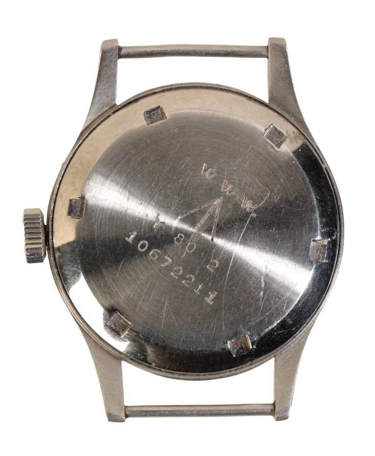 OMEGA BRITISH MILITARY STAINLESS STEEL WRIST WATCH - Image 4 of 5